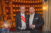 Opernball 2018 - Wiener Staatsoper - Do 08.02.2018 - Alexander VAN DER BELLEN, Klemens HALLMANN372