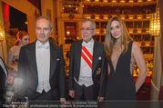 Opernball 2018 - Wiener Staatsoper - Do 08.02.2018 - Alexander VAN DER BELLEN, Erwin und Elise WURM373