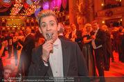 Opernball 2018 - Wiener Staatsoper - Do 08.02.2018 - Daniel NEGRONI mit Spinne386