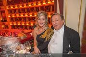 Opernball 2018 - Wiener Staatsoper - Do 08.02.2018 - Richard LUGNER mit Begleitung Simona422