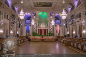 Juristenball - Hofburg - Mo 12.02.2018 - Ballsaal Festsaal Hofburg leer, Tansparkett10