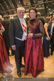 Juristenball - Hofburg - Mo 12.02.2018 - Rudolf HUNDSTORFER mit Ehefrau Karin RISSER39