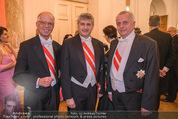 Juristenball - Hofburg - Mo 12.02.2018 - Werner FASSLABEND, Michael SPINDELEGGER, Rudolf HUNDSTORFER45