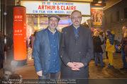 Kinorpremiere Arthur & Claire - Gartenbaukino - Di 13.02.2018 - Josef HADER, Miguel ALEXANDRE8