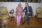 WOW! The Heidi Horten Collection VIP Preview - Leopold Museum - Mi 14.02.2018 - Heidi HORTEN mit Ehemann Graf Carl (Karl Kari) GOESS13
