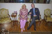 WOW! The Heidi Horten Collection VIP Preview - Leopold Museum - Mi 14.02.2018 - Heidi HORTEN mit Ehemann Graf Carl (Karl Kari) GOESS14