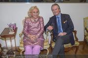 WOW! The Heidi Horten Collection VIP Preview - Leopold Museum - Mi 14.02.2018 - Heidi HORTEN mit Ehemann Graf Carl (Karl Kari) GOESS15