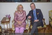 WOW! The Heidi Horten Collection VIP Preview - Leopold Museum - Mi 14.02.2018 - Heidi HORTEN mit Ehemann Graf Carl (Karl Kari) GOESS17