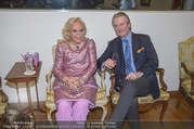 WOW! The Heidi Horten Collection VIP Preview - Leopold Museum - Mi 14.02.2018 - Heidi HORTEN mit Ehemann Graf Carl (Karl Kari) GOESS19
