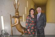 WOW! The Heidi Horten Collection VIP Preview - Leopold Museum - Mi 14.02.2018 - Suzanne HARF mit Ehemann Wolfgang SCHWARZHAUPT21