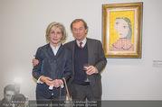 WOW! The Heidi Horten Collection VIP Preview - Leopold Museum - Mi 14.02.2018 - Xenia HAUSNER mit Ehemann36
