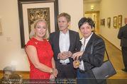 WOW! The Heidi Horten Collection VIP Preview - Leopold Museum - Mi 14.02.2018 - Josef OSTERMAYER mit Ehefrau Maria, Agens HUSSLEIN38