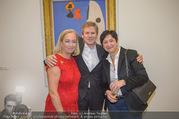 WOW! The Heidi Horten Collection VIP Preview - Leopold Museum - Mi 14.02.2018 - Josef OSTERMAYER mit Ehefrau Maria, Agens HUSSLEIN40