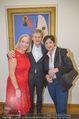 WOW! The Heidi Horten Collection VIP Preview - Leopold Museum - Mi 14.02.2018 - Josef OSTERMAYER mit Ehefrau Maria, Agens HUSSLEIN41