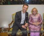 WOW! The Heidi Horten Collection VIP Preview - Leopold Museum - Mi 14.02.2018 - Gernot BL�MEL, Heidi HORTEN mit Ehemann Graf Carl (Karl Kari) G61