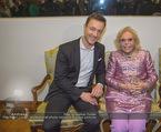 WOW! The Heidi Horten Collection VIP Preview - Leopold Museum - Mi 14.02.2018 - Gernot BL�MEL, Heidi HORTEN mit Ehemann Graf Carl (Karl Kari) G62