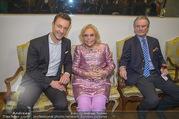 WOW! The Heidi Horten Collection VIP Preview - Leopold Museum - Mi 14.02.2018 - Gernot BL�MEL, Heidi HORTEN mit Ehemann Graf Carl (Karl Kari) G63