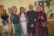 WOW! The Heidi Horten Collection VIP Preview - Leopold Museum - Mi 14.02.2018 - Ingrid FLICK, Friederike WLASCHEK, Shirley und Otto RETZER111