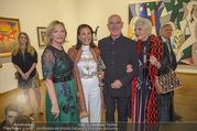 WOW! The Heidi Horten Collection VIP Preview - Leopold Museum - Mi 14.02.2018 - Ingrid FLICK, Friederike WLASCHEK, Shirley und Otto RETZER112