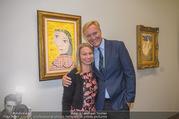 WOW! The Heidi Horten Collection VIP Preview - Leopold Museum - Mi 14.02.2018 - Klaus-Albrecht SCHR�DER mit Ehefrau Nina119