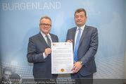 Friedensschluss Esterhazy - Land Burgenland - Amt der Burgenländischen Landesregierung - Di 20.02.2018 - Hans NIESSL, Stefan OTTRUBAY20