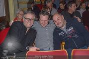Florian Scheuba Premiere - Stadtsaal - Di 20.02.2018 - Robert PALFRADER, Rudi ROUBINEK24