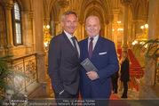 Falstaff Awards - Rathaus - Di 27.02.2018 - Alfred HUDLER, Wolfgang ROSAM2