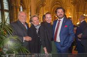Falstaff Awards - Rathaus - Di 27.02.2018 - Lisl WAGNER-BACHER mit Ehemann Klaus, Tochter Susanne, Thomas DO7