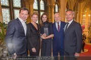 Falstaff Awards - Rathaus - Di 27.02.2018 - Heinz und Birgit REITBAUER, Angelika und Wolfgang ROSAM, Alfred 11