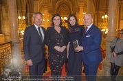 Falstaff Awards - Rathaus - Di 27.02.2018 - Alfred HUDLER, Elisabeth K�STINGER, Wolfgang und Angelika ROSAM30