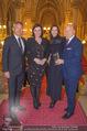Falstaff Awards - Rathaus - Di 27.02.2018 - Alfred HUDLER, Elisabeth K�STINGER, Wolfgang und Angelika ROSAM31