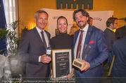 Falstaff Awards - Rathaus - Di 27.02.2018 - Alfred HUDLER, Susanne BACHER-DORFER, Thomas DORFER106