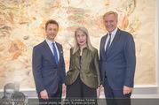 Martha Jungwirth Ausstellung - Albertina - Do 01.03.2018 - Gernot BL�MEL, Klaus Albrecht SCHR�DER, Martha JUNGWIRTH10
