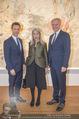Martha Jungwirth Ausstellung - Albertina - Do 01.03.2018 - Gernot BL�MEL, Klaus Albrecht SCHR�DER, Martha JUNGWIRTH11