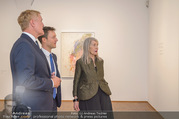 Martha Jungwirth Ausstellung - Albertina - Do 01.03.2018 - Gernot BL�MEL, Klaus Albrecht SCHR�DER, Martha JUNGWIRTH12