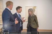 Martha Jungwirth Ausstellung - Albertina - Do 01.03.2018 - Gernot BL�MEL, Klaus Albrecht SCHR�DER, Martha JUNGWIRTH13