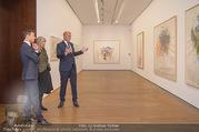 Martha Jungwirth Ausstellung - Albertina - Do 01.03.2018 - Gernot BL�MEL, Klaus Albrecht SCHR�DER, Martha JUNGWIRTH21