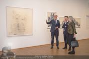 Martha Jungwirth Ausstellung - Albertina - Do 01.03.2018 - Gernot BL�MEL, Klaus Albrecht SCHR�DER, Martha JUNGWIRTH22