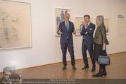 Martha Jungwirth Ausstellung - Albertina - Do 01.03.2018 - Gernot BL�MEL, Klaus Albrecht SCHR�DER, Martha JUNGWIRTH23