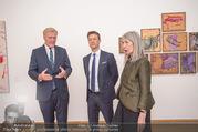Martha Jungwirth Ausstellung - Albertina - Do 01.03.2018 - Gernot BL�MEL, Klaus Albrecht SCHR�DER, Martha JUNGWIRTH24