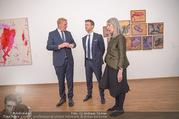 Martha Jungwirth Ausstellung - Albertina - Do 01.03.2018 - Gernot BL�MEL, Klaus Albrecht SCHR�DER, Martha JUNGWIRTH25