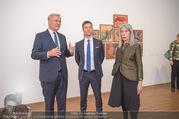 Martha Jungwirth Ausstellung - Albertina - Do 01.03.2018 - Gernot BL�MEL, Klaus Albrecht SCHR�DER, Martha JUNGWIRTH26