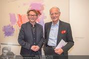 Martha Jungwirth Ausstellung - Albertina - Do 01.03.2018 - Hans-Peter WIPPLINGER, Karlheinz ESSL57