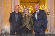 Martha Jungwirth Ausstellung - Albertina - Do 01.03.2018 - Erwin WURM, Martha JUNGWIRTH, Klaus Albrecht SCHR�DER60