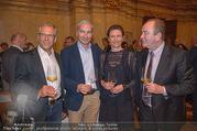 Vinaria Trophy 2018 - Palais Niederösterreich - Do 08.03.2018 - Gerhard ZADROBILEK, Rainer PARIASEK, Prinzessin Marie von und zu3