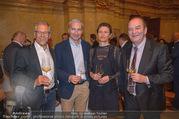 Vinaria Trophy 2018 - Palais Niederösterreich - Do 08.03.2018 - Gerhard ZADROBILEK, Rainer PARIASEK, Prinzessin Marie von und zu4