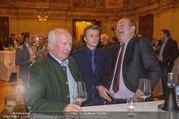 Vinaria Trophy 2018 - Palais Niederösterreich - Do 08.03.2018 - Franz HIRTZBERGER, Herbert PROHASKA mit Enkerl Theo22