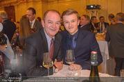 Vinaria Trophy 2018 - Palais Niederösterreich - Do 08.03.2018 - Herbert PROHASKA mit Enkerl Theo43