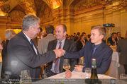 Vinaria Trophy 2018 - Palais Niederösterreich - Do 08.03.2018 - Hansj�rg SCHELLING, Herbert PROHASKA mit Enkerl Theo49