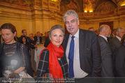 Vinaria Trophy 2018 - Palais Niederösterreich - Do 08.03.2018 - Hansj�rg SCHELLING mit Ehefrau Uschi54